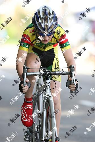 2007-07-21 /Wielrennen / VK tijdrijden Aspiranten jongens 13 jaar Zoersel / Michael Simons