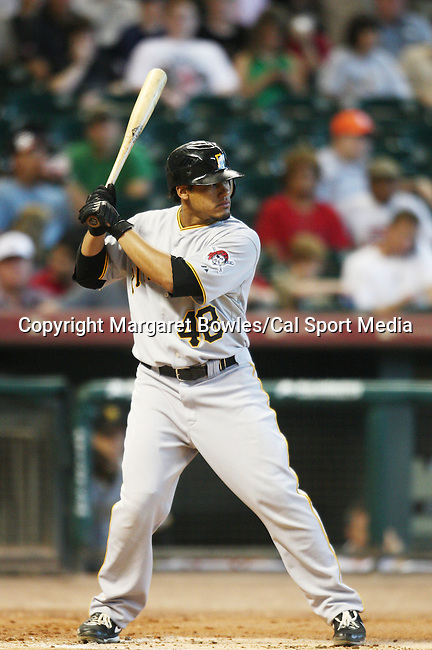 July 8, 2009:  Pittsburgh Pirates right fielder Delwyn Young waits for his pitch. The Houston Astros defeated the Pittsburg Pirates 5-0 at Minute Maid Park in Houston, Texas. Margaret Bowles/CSM