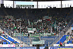 11.05.2019, PreZero Dual Arena, Sinsheim, GER, 1. FBL, TSG 1899 Hoffenheim vs. SV Werder Bremen, <br /> <br /> DFL REGULATIONS PROHIBIT ANY USE OF PHOTOGRAPHS AS IMAGE SEQUENCES AND/OR QUASI-VIDEO.<br /> <br /> im Bild: Bremer Fans<br /> <br /> Foto &copy; nordphoto / Fabisch