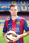 2014-08-10-Thomas Vermaelen new player of FC Barcelona.