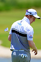 Gavin Moynihan (IRL) in action during the second round of the Afrasia Bank Mauritius Open played at Heritage Golf Club, Domaine Bel Ombre, Mauritius. 01/12/2017.<br /> Picture: Golffile | Phil Inglis<br /> <br /> <br /> All photo usage must carry mandatory copyright credit (&copy; Golffile | Phil Inglis)