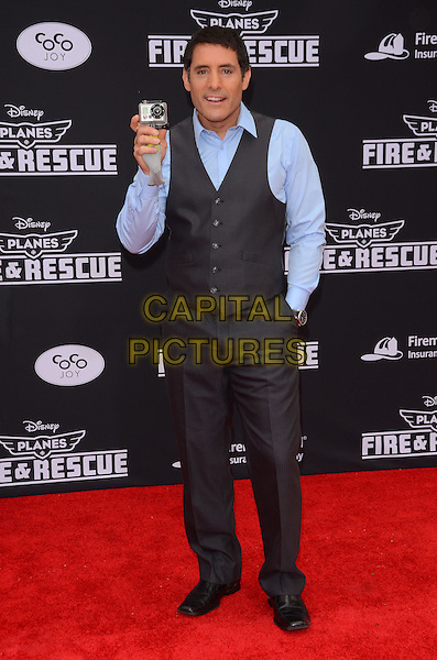 15 July 2014 - Hollywood, California - Danny Pardo. Arrivals for the premiere of Disney's &quot;Planes: Fire and Rescue&quot; held at the El Capitan Theater in Hollywood, Ca. <br /> CAP/ADM/BT<br /> &copy;BT/ADM/Capital Pictures