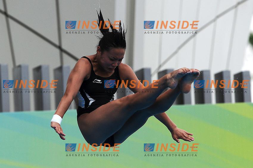 Han WANG China Silver medal.Women's 1m Springboard - Trampolino 1m donne.Shanghai 19/7/2011 .14th FINA World Championships.Foto Andrea Staccioli Insidefoto