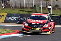 Round 8 of the 2018 British Touring Car Championship.  #33 Adam Morgan. Ciceley Motorsport. Mercedes Benz A-Class