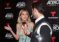 DORAL, FL - NOVEMBER 6: Lucia Silva on the red carpet for Telemundo's season premiereofSenora Acero,La Coyote in CineBistro at City Place Doral, Florida. November 6, 2017. Credit: mpi140 / MediaPunch /NortePhoto.com