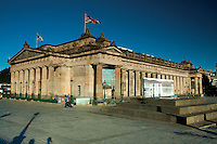 The National Portrait Gallery, Princes Street Gardens, Edinburgh