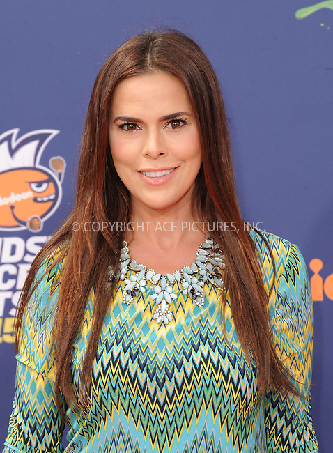 WWW.ACEPIXS.COM<br /> <br /> July 16 2015, LA<br /> <br /> Rosa Blasi arriving at the Nickelodeon Kids' Choice Sports Awards 2015 at UCLA's Pauley Pavilion on July 16, 2015 in Westwood, California.<br /> <br /> By Line: Peter West/ACE Pictures<br /> <br /> <br /> ACE Pictures, Inc.<br /> tel: 646 769 0430<br /> Email: info@acepixs.com<br /> www.acepixs.com