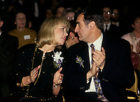 Montreal (Qc) CANADA - Feb 1993  File Photo - Audrey Best seen with husband Lucien Bouchard in this file photo.<br /> <br /> She died of breast cancer January 25, 2011