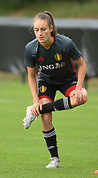 20170722 - RIJEN , NETHERLANDS :   Tessa Wullaert pictured during the training on the pitch of VV Rijen , The Netherlands PHOTO SPORTPIX.BE | DIRK VUYLSTEKE