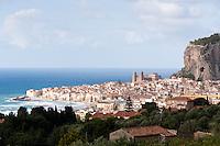 Cefalu, la Rocca and Il Duomo, Sicily