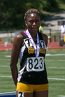 McKinley junior Sky Parker placed sixth in the 100-meter dash and fourth in the 200-meter dash in Class 2 at the Missouri Class 1 and 2 State Track and Field Championships in Jefferson City, Saturday, May 21.