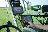 In cab sprayer controls