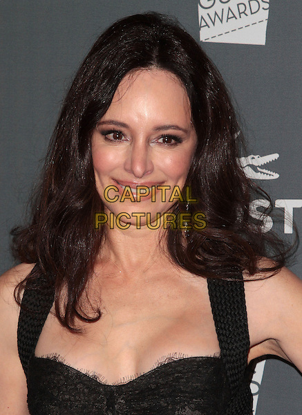 Madeleine Stowe.The 14th Annual Costume Designers Guild Awards held at the Beverly Hilton Hotel, Beverly Hills, California, USA..February 21st, 2012 .headshot portrait black .CAP/ADM/SLP/JO.©JO/SLP/AdMedia/Capital Pictures