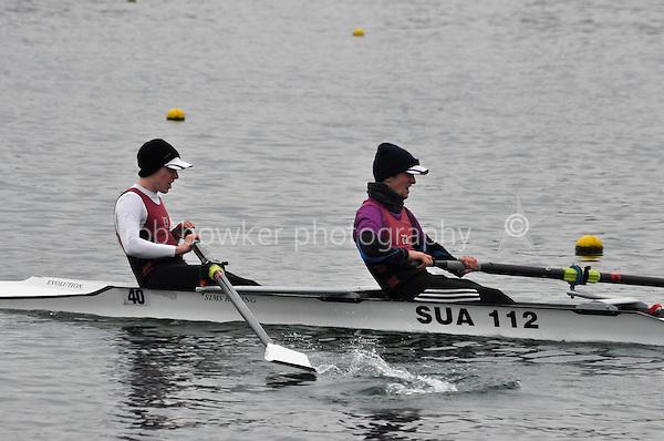437 Stratford‐u‐AvonBC SEN.2‐..Marlow Regatta Committee Thames Valley Trial Head. 1900m at Dorney Lake/Eton College Rowing Centre, Dorney, Buckinghamshire. Sunday 29 January 2012. Run over three divisions.