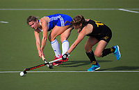 Action from the 2018 women's National Hockey League match between Capital and Auckland at National Hockey Stadium in Wellington, New Zealand on Sunday, 16 September 2018. Photo: Dave Lintott / lintottphoto.co.nz