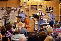 NWA Democrat-Gazette/BEN GOFF &bull; @NWABENGOFF<br /> The worship band plays on Sunday June 21, 2015 during service at Corner Post Cowboy Church East of Siloam Springs.