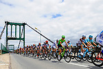The start of Stage 11 of the 104th edition of the Tour de France 2017, running 203.5km from Eymet to Pau, France. 12th July 2017.<br /> Picture: ASO/Pauline Ballet | Cyclefile<br /> <br /> <br /> All photos usage must carry mandatory copyright credit (&copy; Cyclefile | ASO/Pauline Ballet)