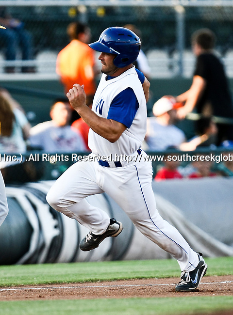 Fort Worth Cats Catcher Kelley Gulledge (21) in action during the American Association of Independant Professional Baseball game between the Amarillo Sox and the Fort Worth Cats at the historic LaGrave Baseball Field in Fort Worth, Tx. Fort Worth defeats Amarillo 5 to 3.