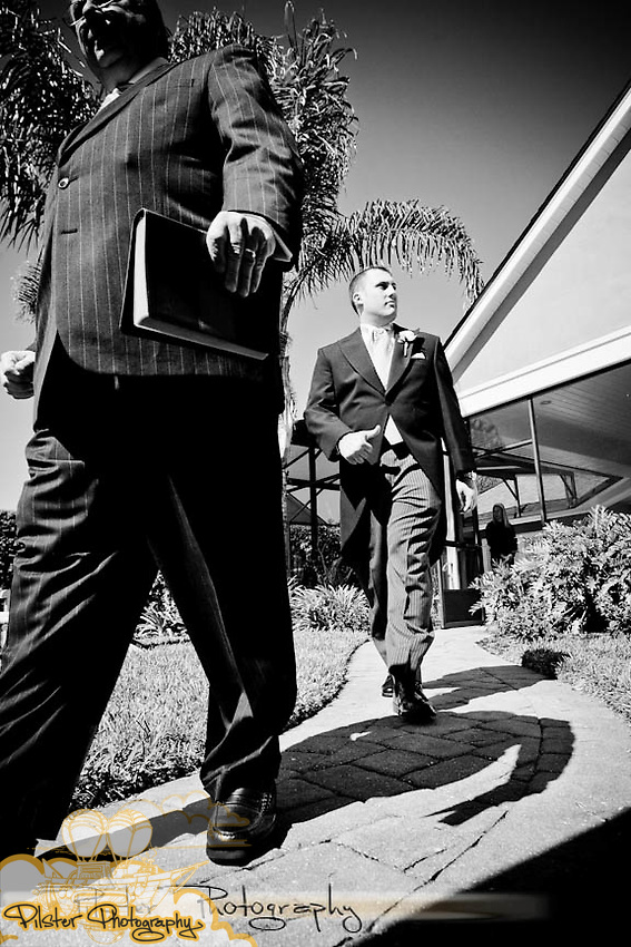 Shelley Watson and Jake Meyer's wedding Saturday, April 29, 2011, at Shelley's uncle's home in Orlando, Florida. They had a Kentucky Derby Theme. (Chad Pilster, PilsterPhotography.net)