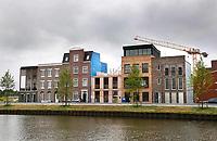 Nederland Purmerend  22 juni  2018. Nieuwbouw langs het water.   Foto Berlinda van Dam Hollandse Hioogte