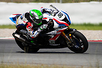 9th July 2020; Circuit de Barcelona Catalunya, Barcelona, Spain; FIM Superbike World Championship Test, Day Two; Eugene Laverty of the BMW Motorrad WORLDSBK Team in action with the BMW S1000 RR