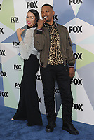 NEW YORK, NY - MAY 14: DJ Corinne Foxx and Jamie Foxx at the 2018 Fox Network Upfront at Wollman Rink, Central Park on May 14, 2018 in New York City.  <br /> CAP/MPI/PAL<br /> &copy;PAL/MPI/Capital Pictures