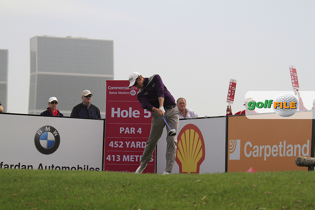 Henrik Stenson (SWE) tees off on the 5th tee during Saturday's Round 2 of the 2012 Commercialbank Qatar Masters presented by Dolphin Energy at Doha Golf Club, Qatar, 4th February 2012 (Photo Eoin Clarke/www.golffile.ie)