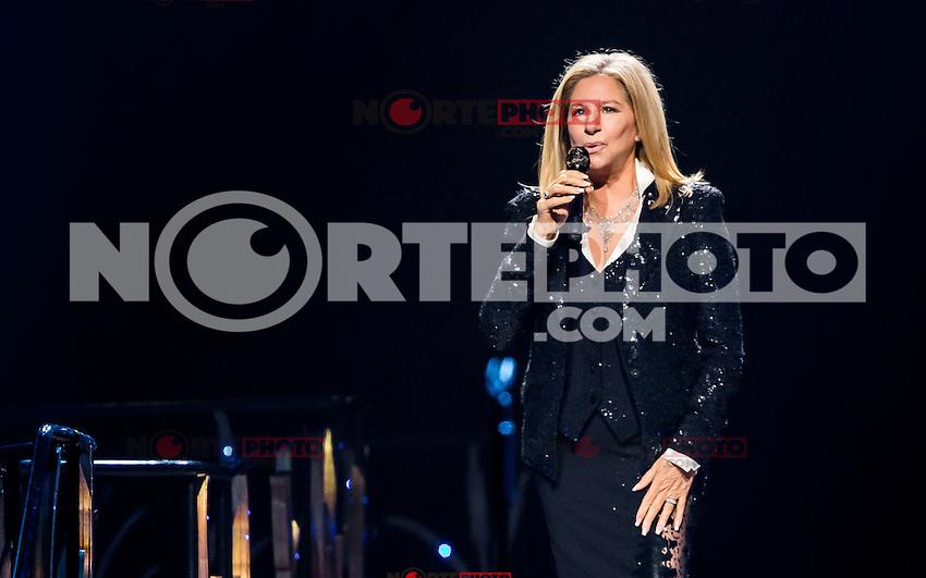 LAS VEGAS, NV - November 2: Barbra Streisand performs at MGM Grand Garden Arena on November 2, 2012 in Las Vegas, Nevada.   Photo By Kabik/ Starlitepics / MediaPunch Inc. .<br /> &copy;NortePhoto