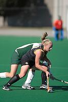 University of Iowa durint the Semi-Finals of the 2007 Big Ten Field Hockey Championships held at the Ohio State University
