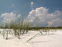 White sands in Destin, Florida.