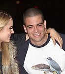 Dianna Agron, Mark Salling celebrating the release of the smash hit CD, glee - the music season one with an appearance at Borders Columbus Circle in New York City. November 3, 2009