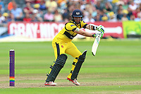 Matt Taylor in batting action for Gloucestershire during Gloucestershire vs Essex Eagles, NatWest T20 Blast Cricket at The Brightside Ground on 13th August 2017