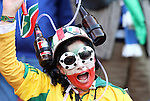 24 JUN 2010: South Africa fan. The Slovakia National Team defeated the Italy National Team 3-2 at Ellis Park Stadium in Johannesburg, South Africa in a 2010 FIFA World Cup Group F match.