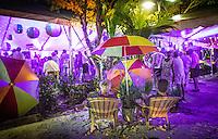 Bahama Beach Bash, Naples Music Festival, featuring the group Powerhouse, benefits Garden of Hope & Courage, Third Street South, Naples, Florida, USA, April 6, 2014. Photo/debi pittman wilkey