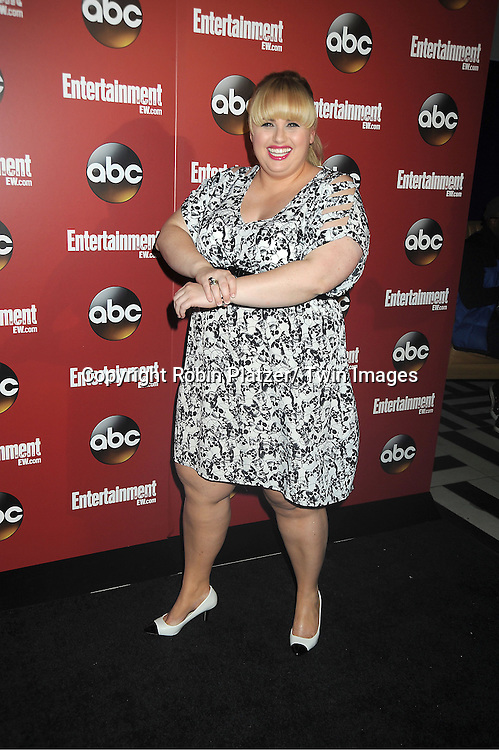 Rebel Wilson at the Entertainment Weekly and ABC-TV Upfront Party at The General on May 14, 2013 in New York City.