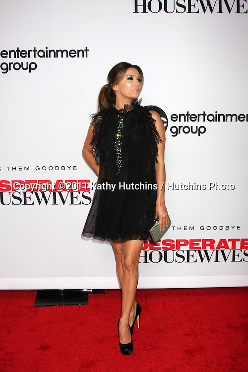 """LOS ANGELES - SEPT 21:  Eva Longoria arriving at the """"Desperate Housewives"""" Final Season Kick-Off Party at Wisteria Lane, Universal Studios on September 21, 2011 in Los Angeles, CA"""