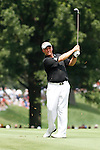 Darren Clarke (NIR)  on the 2nd fairway on day 1of the World Golf Championship Bridgestone Invitational, from Firestone Country Club, Akron, Ohio. 4/8/11.Picture Fran Caffrey www.golffile.ie