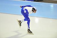 SCHAATSEN: HEERENVEEN: 26-12-2013, IJsstadion Thialf, KNSB Kwalificatie Toernooi (KKT), 5000m, Simon Schouten, ©foto Martin de Jong