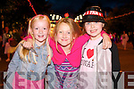 Madeline Doherty, Rachel Flaherty and Laura Martin (all from Meath) at Jedward on Friday.