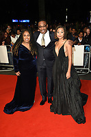 "Angie Thomas, George Tillman Jr. and Amandla Stenberg<br /> arriving for the London Film Festival screening of ""The Hate U Give"" at the Cineworld Leicester Square, London<br /> <br /> ©Ash Knotek  D3452  20/10/2018"