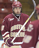 Brian Boyle - The Boston College Eagles defeated the Providence College Friars 4-1 on Saturday, January 7, 2006, at Schneider Arena in Providence, Rhode Island.
