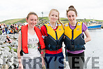 Blaithín Sheehy, Mary Fitzgerald and Bethany Moroney (Dingle) at the Dingle Regatta over the weekend.