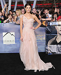 Ashley Greene attends The world premiere of Summit Entertainment's THE TWILIGHT SAGA: BREAKING DAWN -PART 2 held at  Nokia Theater at L.A. Live in Los Angeles, California on November 12,2012                                                                               © 2012 DVS / Hollywood Press Agency
