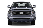 Car photography straight front view of a 2018 Toyota Tundra TRD Sport Crew 4 Door Pick Up