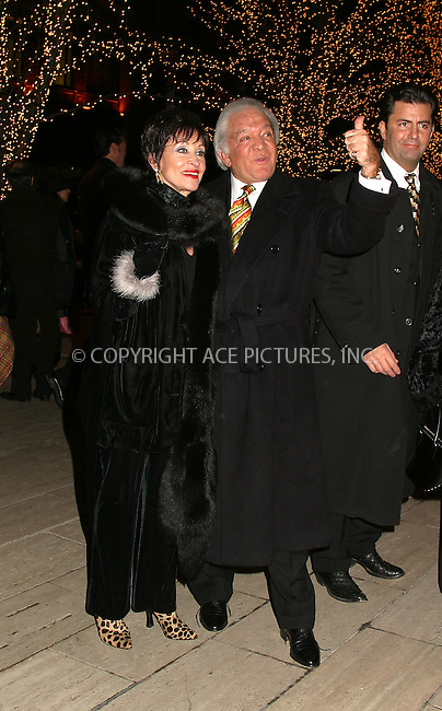 """Broadway star Chita Rivera arrives at the premiere after party for """"Chicago."""" New York, December 18, 2002. Please byline: Alecsey Boldeskul/NY Photo Press.   ..*PAY-PER-USE*      ....NY Photo Press:  ..phone (646) 267-6913;   ..e-mail: info@nyphotopress.com"""