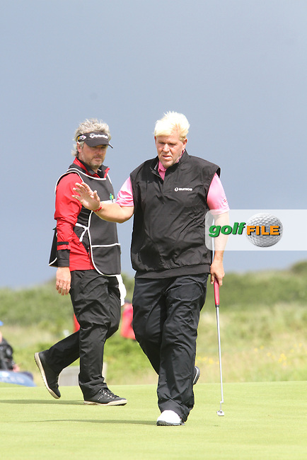 John Daly (USA) on the 12th on Day 2 of the 2012 Irish Open at Royal Portrush Golf Club, Portrush, Co.Antrim, 29/6/12...(Photo Jenny Matthews/www.golffile.ie)