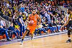 Trevor RELEFORD (#12 Mitteldeutscher BC)  beim Spiel in der Basketball Bundesliga, MHP Riesen Ludwigsburg - Mitteldeutscher BC.<br /> <br /> Foto &copy; PIX-Sportfotos *** Foto ist honorarpflichtig! *** Auf Anfrage in hoeherer Qualitaet/Aufloesung. Belegexemplar erbeten. Veroeffentlichung ausschliesslich fuer journalistisch-publizistische Zwecke. For editorial use only.