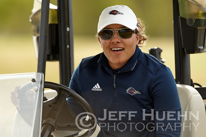 SAN ANTONIO, TX - OCTOBER 24, 2017: The University of Texas at San Antonio Roadrunners host the Maryb S. Kauth Invitational Women's Golf Tournament at the Briggs Ranch Golf Club. (Photo by Jeff Huehn)