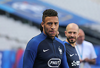 Corentin Tolisso (Lyon) of France during the France National Team Training session ahead of the match with England tomorrow evening at Stade de France, Paris, France on 12 June 2017. Photo by David Horn / PRiME Media Images.