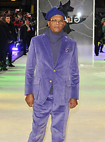 Samuel L Jackson at the &quot;Glass&quot; UK film premiere, Curzon Mayfair, Curzon Street, London, England, UK, on Wednesday 09 January 2019.<br /> CAP/CAN<br /> &copy;CAN/Capital Pictures